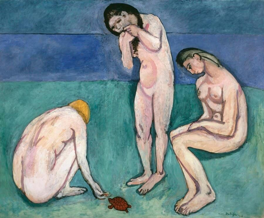 Bathers with a Turtle, 1907-08 by Henri Matisse