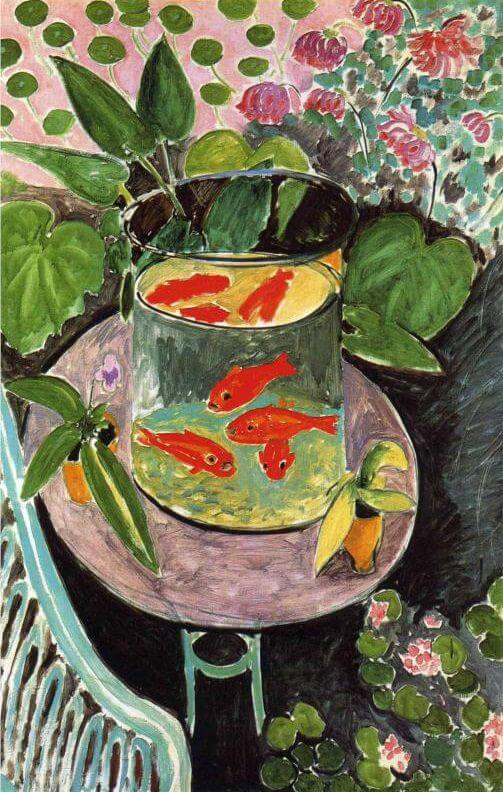 The Goldfish, 1912, by Henri Matisse