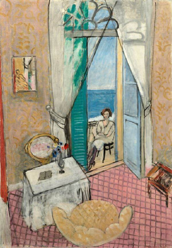 Interior at Nice, 1921 by Henri Matisse