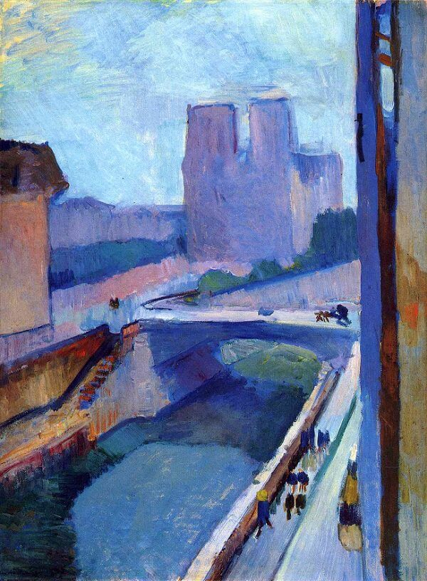 Notre-Dame in the Late Afternoon, 1902 by Henri Matisse