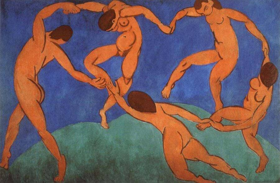 The Dance, 1910 by Henri Matisse