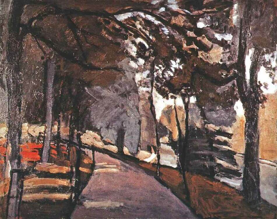 The Path in the Bois de Boulogne, 1903 by Henri Matisse