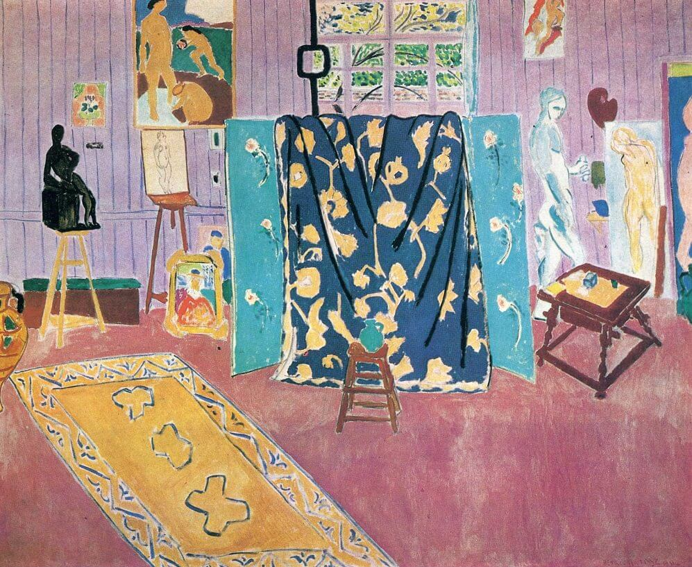 The Pink Studio, 1911, by Henri Matisse