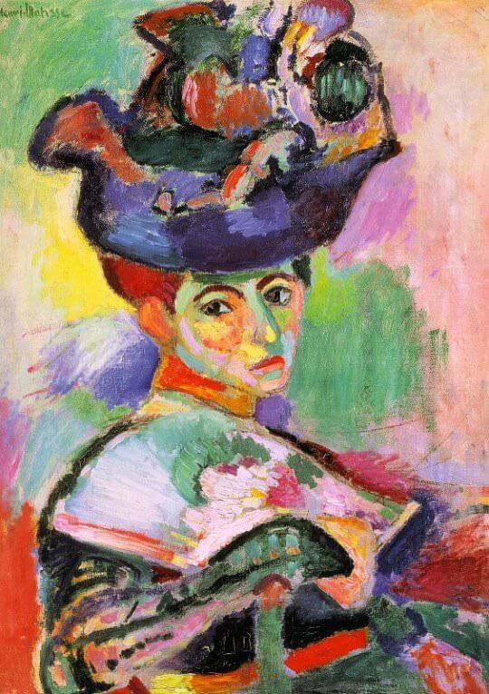Woman with a Hat (Femme au chapeau), 1905 by Henri Matisse