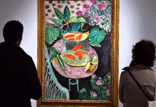 Photo of The Goldfish by Henri Matisse