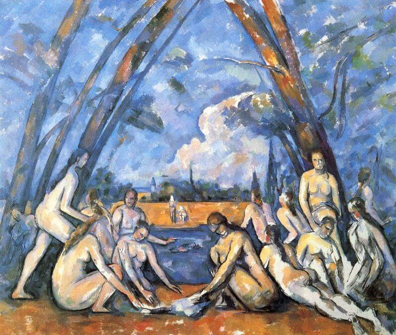 The Large Bathers, 1898-1905 by Paul Cezanne