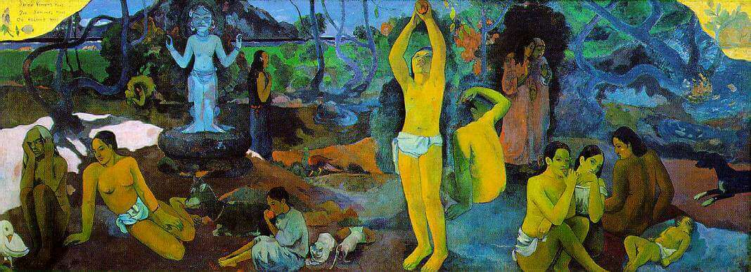 Where Do We Come From? What Are We? Wher Are We Going? 1897 by Paul Gauguin